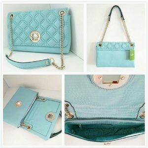 NWT KATE SPADE QUILTED CYNTHIA LEATHER HANDBAG!